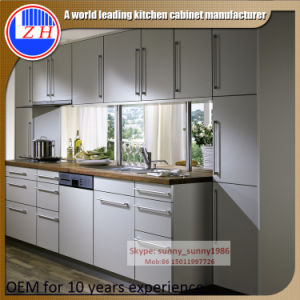 Zhuv Plywood Laminated Kitchen Cabinet Design (customzied) pictures & photos