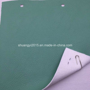 Be234 Popular Lichee Pattern Synthetic Leather (PU) for Bags pictures & photos