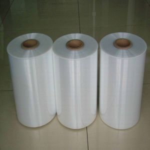 Hight Transparent Centerfold Polyolefin Heat Shrink Film for Food and Articles Wrapping with FDA Approved (XFF11) pictures & photos