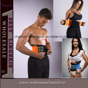 Hot Adjustable Waist Trimmer Weight Loss Slimmer Belt (TG8009) pictures & photos