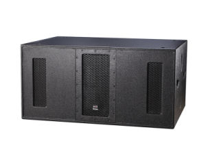 Dual 18inch High Power Ultra Compact Subwoofer PPR-928 pictures & photos