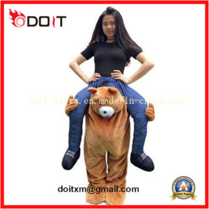 Stuffed Piggy Back Novelty Fancy Dress Costume for Purim Party pictures & photos