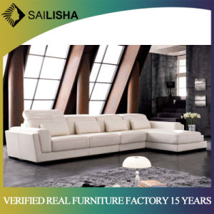 Modern Leather Corner Sofa Bed Chair Living Room Home Furniture Sectional  Couch Sets