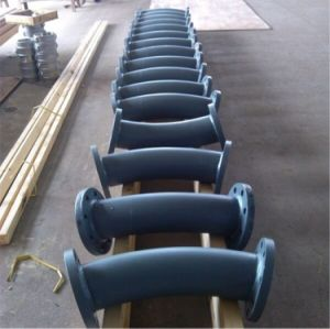 Alumina Ceramic Lined Steel Pipe Elbow pictures & photos