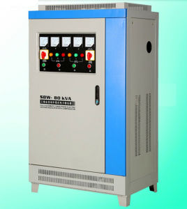 Low Price Cheap SBW Stabilizer with LED Digital Display SBW Three Phase Compensated Voltage Regulator pictures & photos