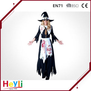 Horrible Bloody Witch Cosplay Costume for Halloween Party