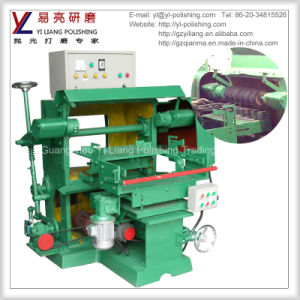 Single Shaft Auto Hardware Suface Grinding and Polishing Machine