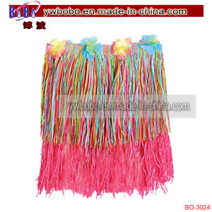 Party Items Promotional Flower Lei Rainbow Hula Skirt (BO-3024) pictures & photos