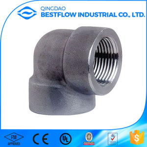 Forged A105 Carbon Steel NPT Threaded Pipe Fittings pictures & photos