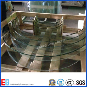 New Custom Room Decors Curved Tempered Bending Glass