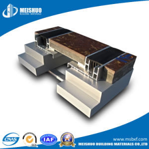 Resilient Floor Rubber Expansion Joint with Concealed Aluminum Cover Plate pictures & photos