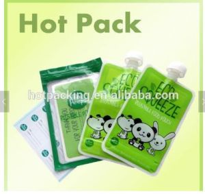 Standing Spout Pouch with High Quality Packaging Bag for Detergent pictures & photos
