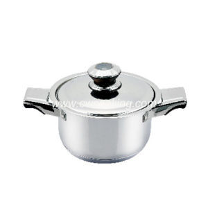 Stainless Steel Stock Pot with Thermometer Knob pictures & photos