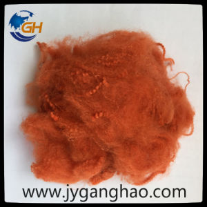 Polyester Staple Fiber in Pink pictures & photos