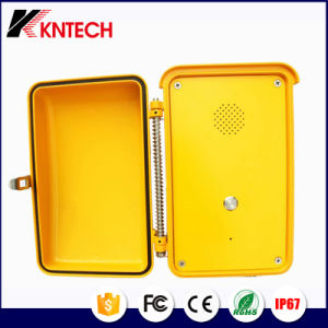 Waterproof IP Phone Waterproof Telephone Intercom System Knsp-04 pictures & photos