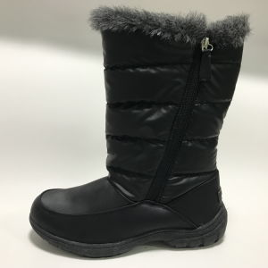Women′s Waterproof Hihg Quality Boot with Cemented Outsole