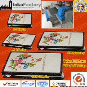 Iran Distributors Wanted: DTG T-Shirts Printers with 4 T-Shirts Trays pictures & photos