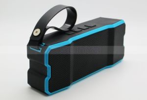 Mini Outdoor Heavy Bass Cube Ipx7 Bluetooth Waterproof Speaker for Laptop Tablet PC Mobile Phone Speakers with Handle pictures & photos