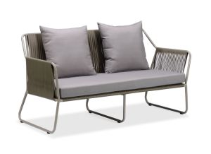 Garden Specific Use Rattan Wicker Sofa P-S0254