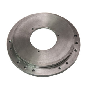 CNC Machining Flange Cover Iron Casting