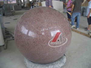 Natural Granite Sculpture of Golf Ball pictures & photos