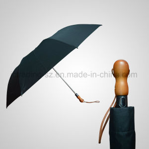 2 Section Automatic Open Golf Foldable Umbrella