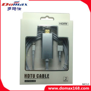 Mobile Phone Accessories HDMI USB Cable for iPhone Support 1080P pictures & photos