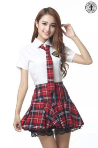 d1c5372be China Customized Girl School Shirt and Skirt Uniform Manufacturer ...