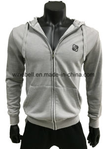 Simplicity Retro Hoody for Men with Stonewash pictures & photos