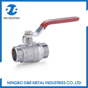 Hydraulic Brass Ball Valve with Nickel Plated pictures & photos