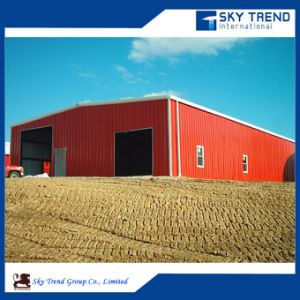 Environment Friendly Galvanized Assemble Light Frame Steel Structure Warehouse