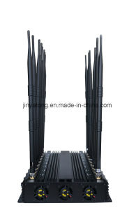 High Power 16 Antennas All-in-One Adjustable All Frequencies Cell Phone Signal Jammer pictures & photos
