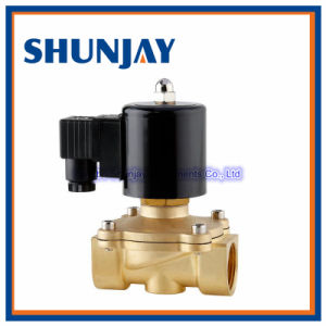 Brass Material Water Gas Oil Solenoid Valve with Normally Open