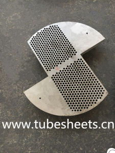 Customized Pressure Vessel Support Plate