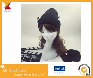 Wholesale Cats Ear Hats Knitted Wool Hats Made in China