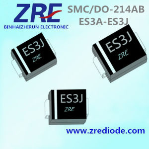 3A Es3a Thru Es3j Super Fast Recovery Rectifier Diode SMC/Do-214ab Package pictures & photos