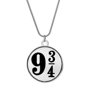 Imitation Jewelry Gift- Nine and Three Quarters Necklace 9 3/4 Chain Zinc Alloy Pendant Necklace