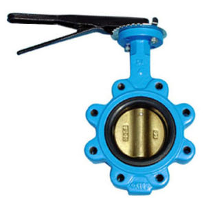 Lug Type Lever Operation Butterfly Valve