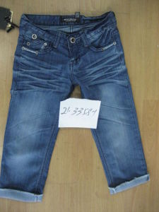 Ladies Denim Jeans (21-3358-1)
