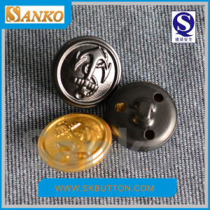 Hot Selling Sewing Brass Button for EU & Au Market