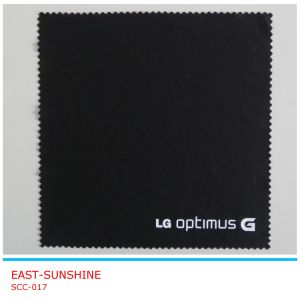Promotional Microfiber Polishing Cloth for Glasses (SCC-017) pictures & photos