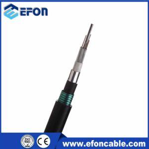 Double Sheath Aluminium Direct Burial 8 Core Fiber Optic Cable (GYTA53)
