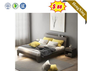Guangzhou Wooden Bedroom Furniture New Design Hotel Furniture Bed