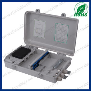 Fdb Plastic 24core Fiber Optical Pole Mounted Distribution Box pictures & photos