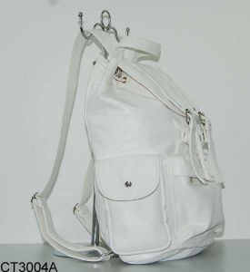 PU Leather Backpack -1