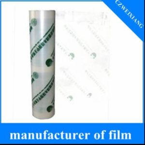 PE Transparent Protective Film with Pringting