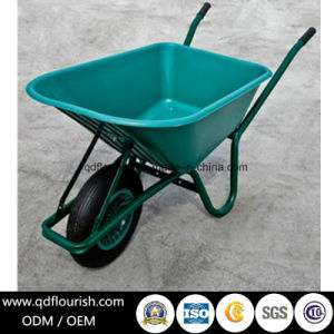 Garden Tool Cart Trolley Wheelbarrow Wb6414s Folding Wagon Wheel Barrow