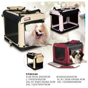 Foldable and Soft Dog Travel Crateyf80346