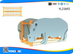 Indoor Playground Wood Animal Balance Beam (YL-23692) pictures & photos