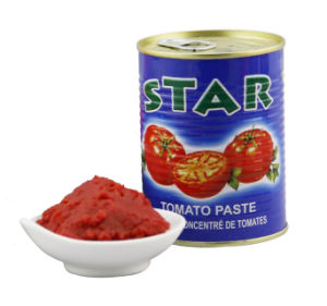 Canned Tomato Paste (Star brand 70g) pictures & photos